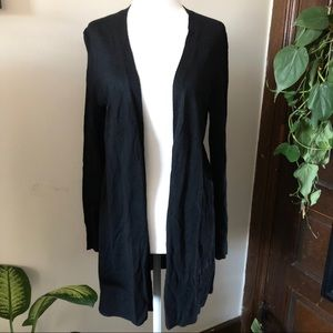 Talbots Black Cardigan Sweater
